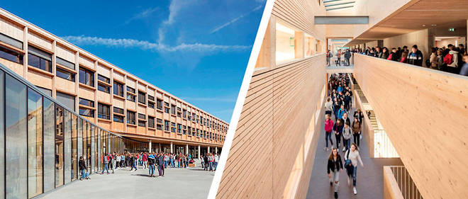 Architecture - A Lamballe, un college bioclimatique