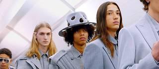 Des costumes version souple et confort  chez Louis Vuitton.