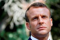 Emmanuel Macron évoque ses derniers mois à l'Élysée et ceux à venir.