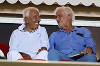 Charles Gérard et Jean-Paul Belmondo apparaissaient régulièrement ensemble.