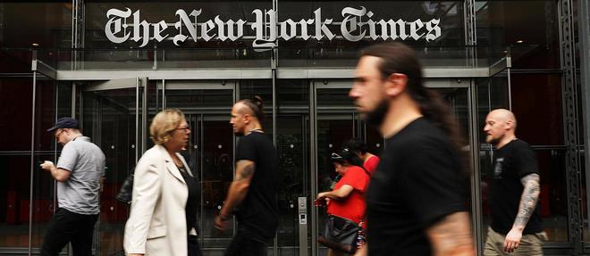 << The New York Times >>, un journal prospere, tres lu, mais en crise...
