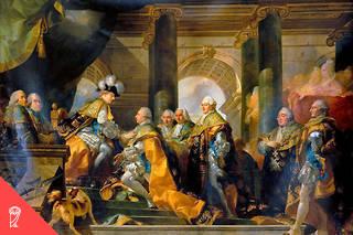 Dewald revisite les hypothèses émises par Tocqueville, qui, dans « L'Ancien Régime et la Révolution », écrit que, « depuis plusieurs siècles, les nobles français n'avaient cessé de s'appauvrir ». Cent cinquante ans plus tard, l'Américain conclut, à sa suite, que « la noblesse du XVIIIe siècle était plus faible que ne l'estiment la plupart des travaux historiques récents, résultat (…) d'un processus de déclin ».