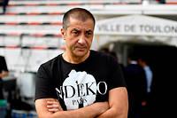 Mourad Boudjellal, president du RC Toulon, n'a pas sa langue dans sa poche.