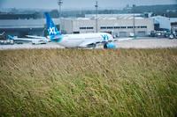 Un avion de XL Airways à Paris.