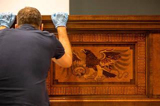 Le musée rassemble l'une des plus grandes collections d'objets du IIIe Reich.