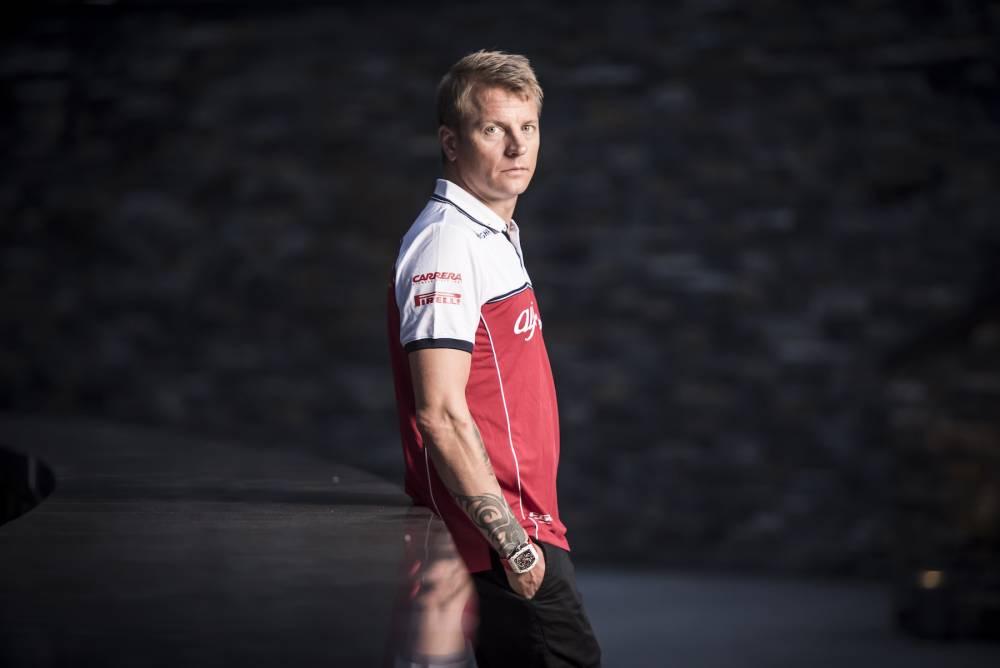 Richard Mille en piste avec Kimi Räikkönen