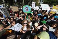 Grève pour la climat à New York le 20 septembre. Devant la mobilisation et l'inquiétude de l'opinion publique, des élus républicains jugent qu'une véritable politique environnementale s'impose.