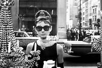 Audrey Hepburn dans << Diamants sur canape >> (<< Breakfast at Tiffany's >>).