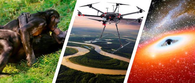 Les sciences sens dessus dessous- DJI Matrice 600, drone renifleur