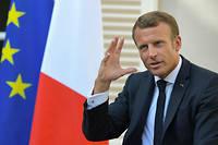 Selon Emmanuel Macron, les demandes d'asile, en baisse en Europe, augmentent en France.