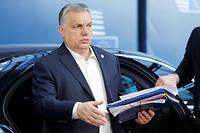 Le Premier ministre hongrois en mars 2019.