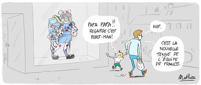 Dessin deMathieu Vinciguerra pour Le Point.