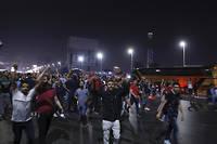 Manifestation au Caire le 20 septembre 2019. Des Égyptienss'opposent au président Abdel Fattah al-Sissi.
