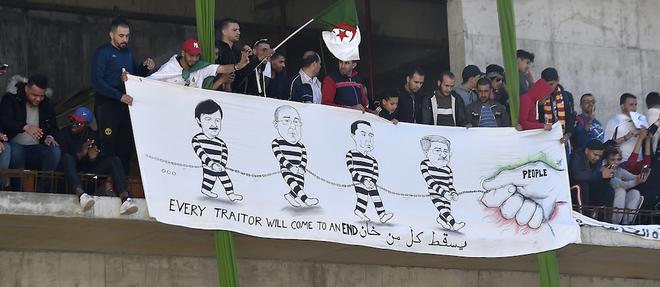 Said Bouteflika, frere du president dechu algerien Abdelaziz Bouteflika, les generaux Toufik et Tartag, et Louisa Hanoune, la cheffe du Parti des travailleurs (PT, trotskiste), sont poursuivis pour << complot >>.