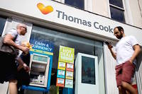 Une agence Thomas Cook.