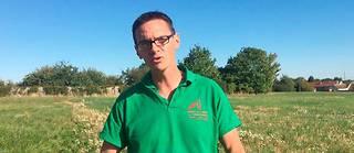 Cyrille Milard est président de la FDSEA de Seine-et-Marne.