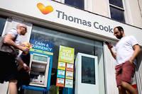 Une agence Thomas Cook à Londres.