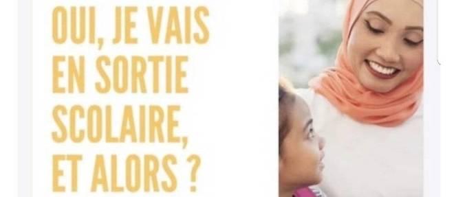 Cette affiche diffusée de la FCPE a été conçueen vue des élections de parents d'élèves.
