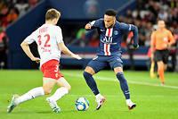 Neymar n'a pas réussi à faire la différence face à Reims.