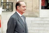 Jacques Chirac enfin à l'Élysée, le 17 mai 1995. ©Michel Gangne
