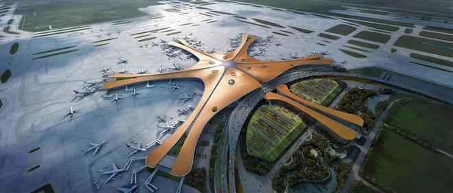 L'aéroport de Pékin a été inauguré le 25 septembre.