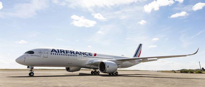 L'Airbus A350, nouveau cheval de bataille d'Air France