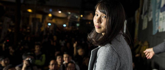 Agnès Chow le 28 janvier 2018.