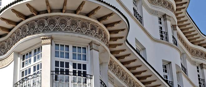 L'architecture d'art déco français fait partie des originalités de Rabat.