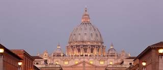 La place Saint-Pierre au Vatican.