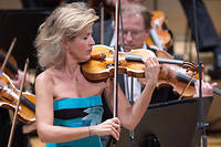 La star allemande du violon Anne-Sophie Mutter, ici en 2017.