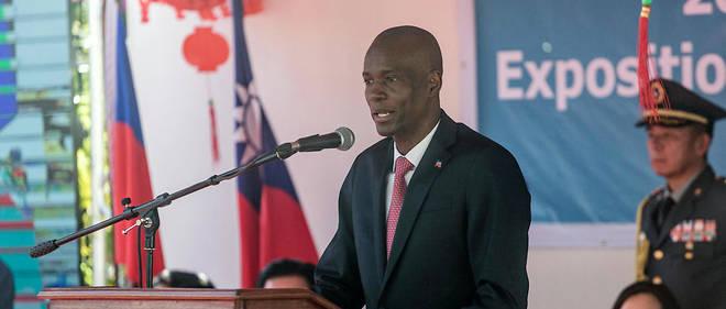 Le président Jovenel Moïse en juillet 2019.