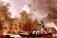 «Les Voyages du capitaine Cook», par William Hodges, 1774.