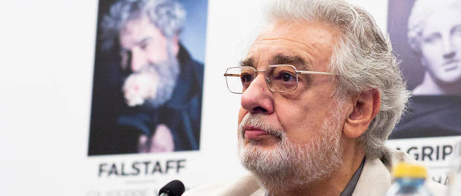 Placido Domingo refute les accusations portees a son encontre.
