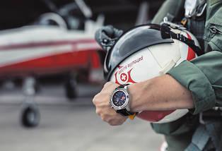 <p>Avenger Chronograph 45 Swiss Air Force Team Limited Edition. Acier. Mouvement automatique Calibre 13. 550 exemplaires.</p>