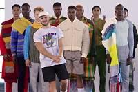 Un bel avenir etait promis au jeune styliste Nicholas Coutts, un habitue des defiles sud-africains.