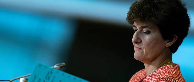 Sylvie Goulard lors de sa première audition au Parlement européen, le 2 octobre.