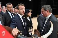 <p>Emmanuel Macron a tenté de répondre à la colère des agriculteurs présents au Sommet de l'élevage.</p>