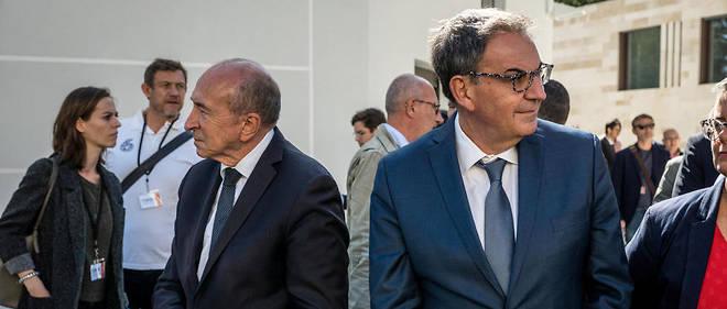 Calendrier Meeting Macron 2019.A Lyon Le Divorce Entre Collomb Et Kimelfeld Est Consomme