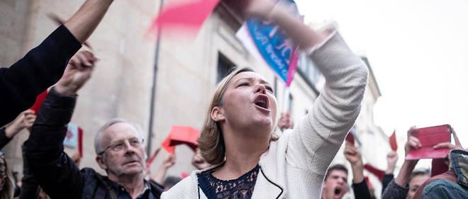 Ludovine de la Rochère, présidente de la Manif pour tous, association qui participera ce dimanche à la manifestation contre l'ouverture de la PMA à toutes les femmes.