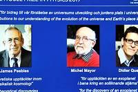 <p>Les trois chercheurs, astrophysiciens et astronomes, ont contribué à « une nouvelle compréhension de la structure et de l'histoire de l'Univers ». « Leurs travaux ont changé à jamais nos conceptions du monde », a indiqué l'Académie.</p>