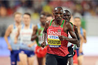 Plus travailleur que talentueux, le Kenyan Timothy Cheruiyot domine de la tete et des epaules le 1500 m au niveau mondial.