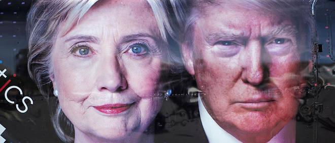 Donald Trump et Hillary Clinton se sont opposés lors de la dernière élection présidentielle.