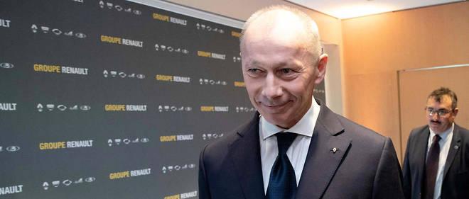 Thierry Bolloré, qui avait endossé le poste de directeur général de Renault, fait les frais de l'affaire Ghosn dont il était le successeur désigné