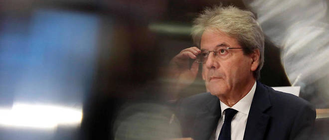 Paolo Gentiloni lors de son audition au Parlement européen. Il a assuré les députés de son impartialité à l'égard de Rome.