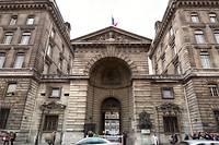 <p>La prefecture de police de Paris.</p>