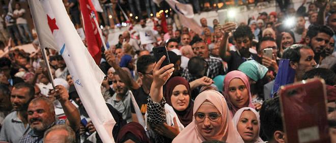 Le parti d'inspiration islamiste Ennahdha arrive en tête à l'issue de l'élection législative.