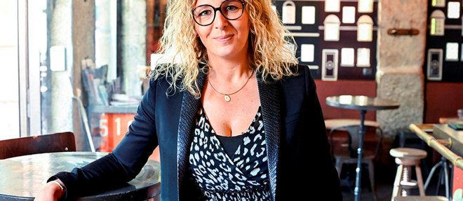 Confrontée aux difficultés de trouver du personnel dans la restauration, Marie Clauss a fondé le site Simone, qui propose des candidats certifiés.  ©Stephane AUDRAS/REA
