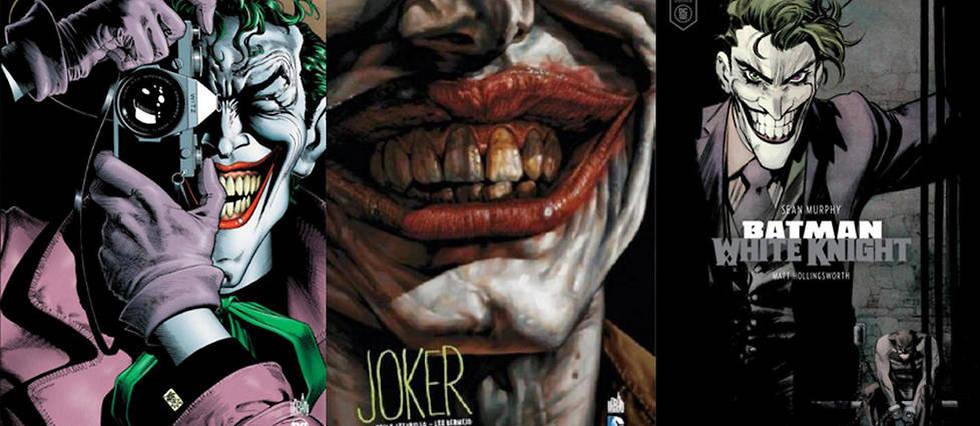 <p>3 comics pour découvrir le Joker</p>