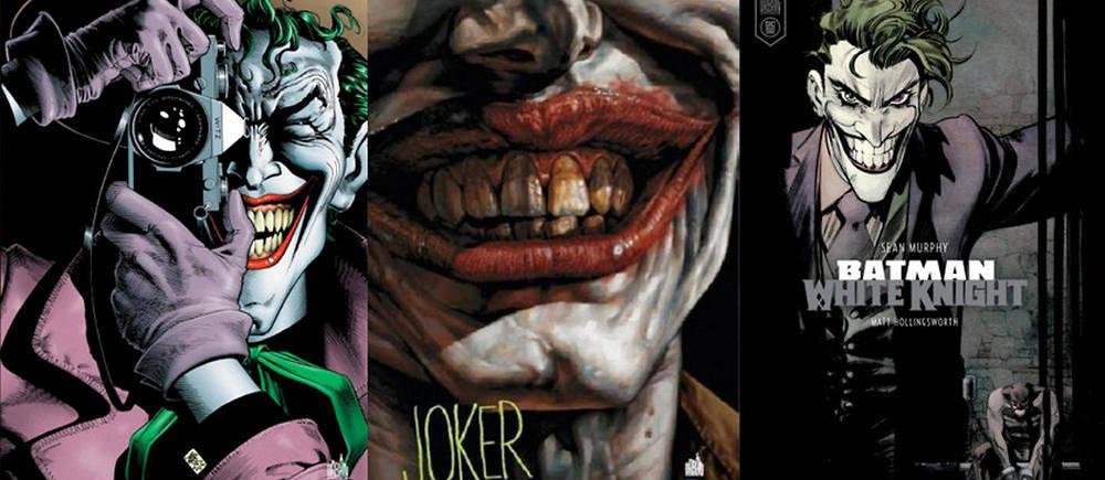 3 comics pour decouvrir le Joker