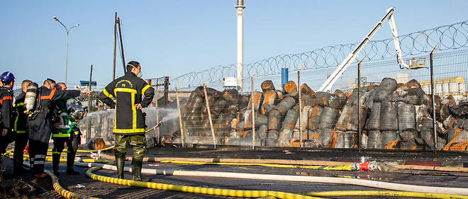 «Il va falloir prouver que c'est une pollution liée à l'incendie parce qu'il n'y a pas de produit chloré dans ce qui a brûlé chez Lubrizol. C'est un point singulier», a estiméIsabelle Striga au micro de BFM TV jeudi 10 octobre.